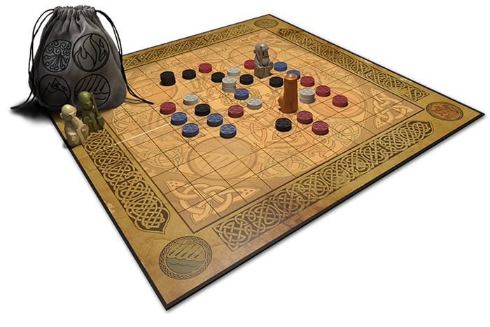 Element game board setup