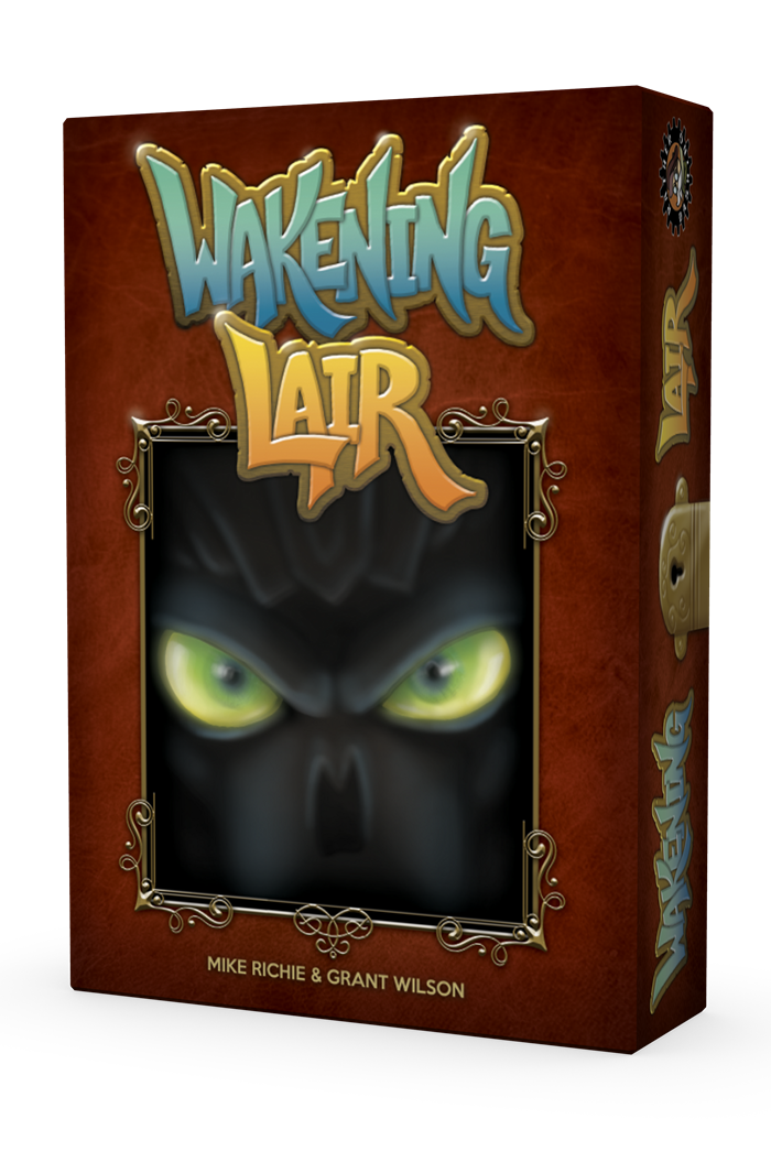 Wakening Lair 3D Box cover facing left