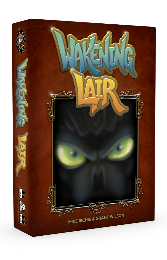Wakening Lair 3D Cover facing right