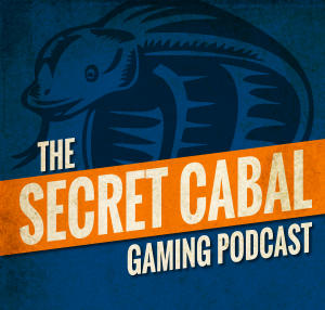 Secret Cabal Gaming Podcast Logo
