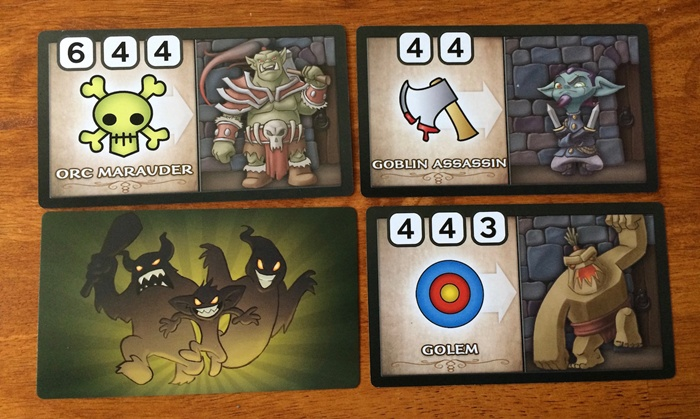 Monster card samples Wakening Lair