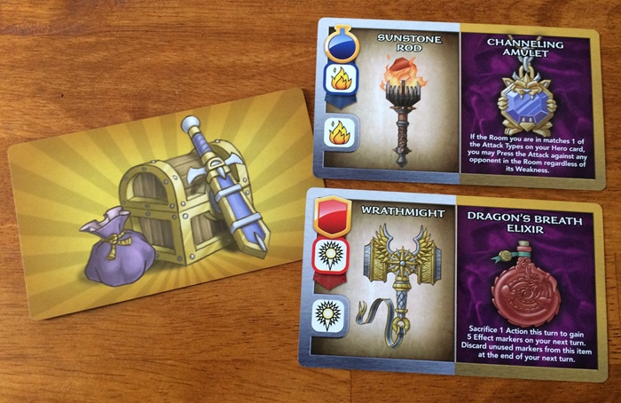 Treasure card samples Wakening Lair