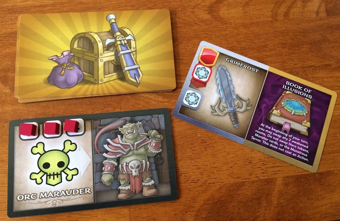 defeated monster and treasure in Wakening Lair
