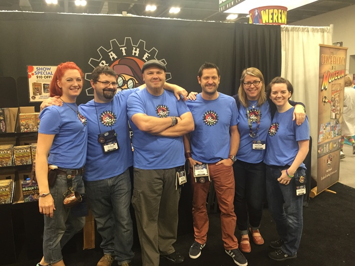Rather Dashing Games team at Origins Game Fair